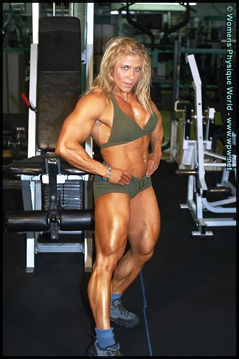 Finland Smartest female Bodybuilders