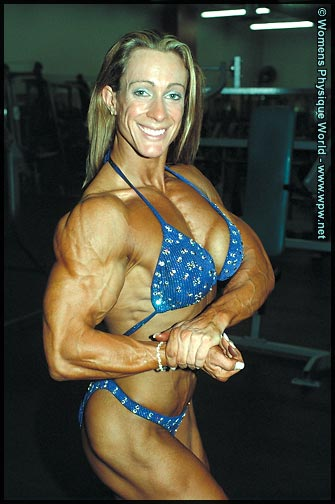 We now welcome Amanda to the ranks of the IFBB Pro women's bodybuilding