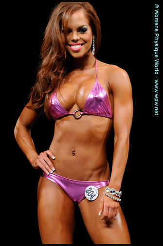 The Bikini event at the 2009 Junior USA is featured here, and all height